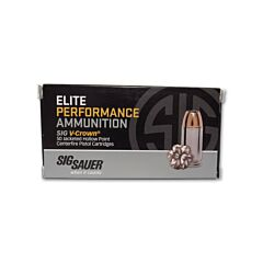 Sig Sauer Elite Performance 9mm Luger 124 Grain Jacketed Hollow Point 50 Rounds