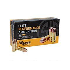 Sig Sauer Elite Performance Ball  9mm Luger 147 Grain Full Metal Jacket 50 Rounds