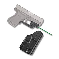 Crimson Trace Laserguard Green Laser for Glock 43 with BT Holster Model LG-443G-HBTG