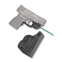 Crimson Trace Laserguard Green Laser for Shield 45 with Holster Model LG-485HBT