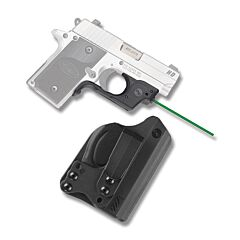 Crimson Trace Laserguard Green Laser for SIG P238/P938 with BT Holster Model LG-492G-H
