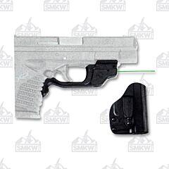 Crimson Trace Laserguard Green Laser Springfield Armory XD MOD.2 Blade-Tech IWB Holster