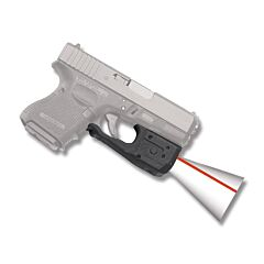 Crimson Trace Laserguard Pro Red Laser for Glock 3rd Gen 26/27 Compact with BT Holster Model LG-810