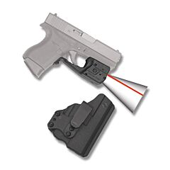 Crimson Trace Laserguard Pro Red Laser for Glock 42/43 with BT Holster Model LL-803-H-BT