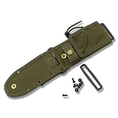 ESEE Knives ESEE-5/6 Laser Strike OD Green MOLLE Back Sheath Model ESEE-52-MB-OD