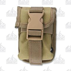 ESEE Khaki Nylon Accessory Pouch