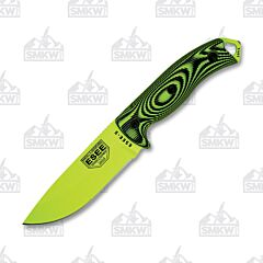 ESEE 5 Venom Green Blade 3D Handle