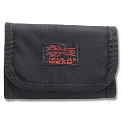ESEE Knives Izula Gear Black Tri-Fold Cordura Wallet Model ESEE-B-FB