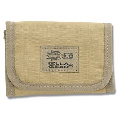 ESEE Knives Izula Gear Tan Tri-Fold Cordura Wallet Model ESEE-BF-DT