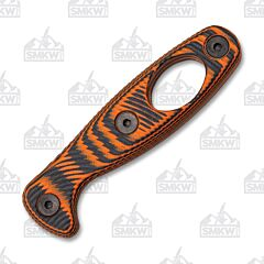 ESEE Xancudo Orange & Black 3D G-10 Carabiner Hole Handles