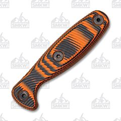 ESEE Xancudo Orange and Black 3D G-10 Handles No Hole