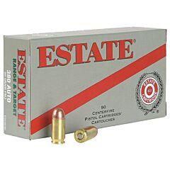 Estate Cartridge 38 Special 130 Grain Full Metal Jacket 50 Rounds