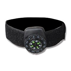 Explorer Black Wristband Compass
