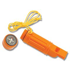 Explorer Compass and Emergency Whistle Tool