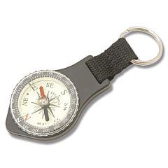 Explorer Keyring Compass - Black