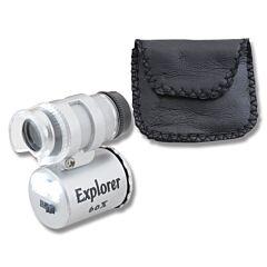 Explorer Mini Blue Light Microscope with L.E.D.s