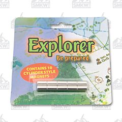 Explorer Cylinder Style Knife Display Magnets