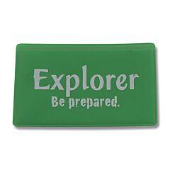 Explorer Magnifying Card