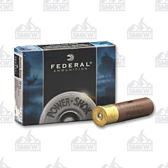"Federal Power-Shok 10 Gauge 3-1/2"" Rifled Slug 1-3/4 OZ 5 Rounds"