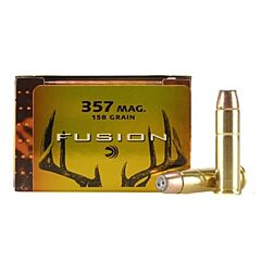 Federal Fusion 357 Magnum 158 Grain Jacketed Hollow Point 20 Rounds
