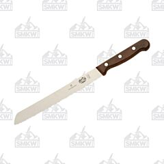 "Victorinox Cutlery 8.375"" Bread Knife Wood"