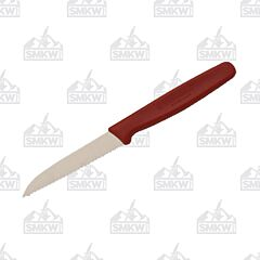 "Victorinox Cutlery 3.1"" Red Sheepfoot Paring Knife"
