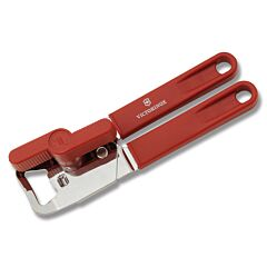 Victorinox Universal Can Opener with Red Handles and Stainless Steel Construction Model 43800