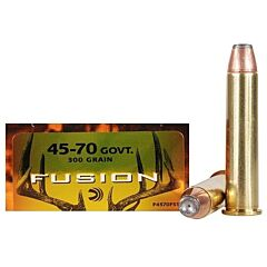 Federal Fusion 45-70 Government 300 Grain Jacketed Hollow Point 20 Rounds