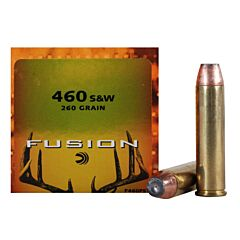 Federal Fusion 460 S&W 200 Grain Flat Nose Soft Point 20 Rounds