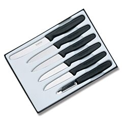 Victorinox Cutlery 6 Piece Black Paring Set