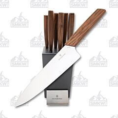 Victorinox Swiss Modern 6 Piece Knife Block Set