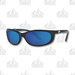 Costa Fathom Matte Black Plastic Sunglasses