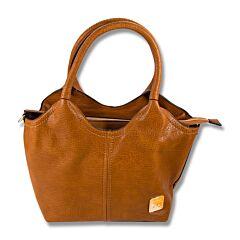 Fabigun Concealed Carry Camel Hobo Bag