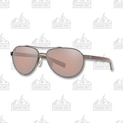 Costa Fernandina Aviator Brushed Gunmetal Sunglasses