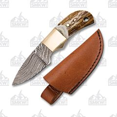 Fox-N-Hound Little Mighty Damascus Mini Skinner