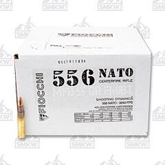 Fiocchi Ammunition Shooting Dynamics M193 5.56 NATO 55 Grain FMJBT 420 Rounds Bulk