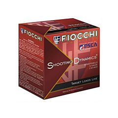 "Fiocchi Shooting Dynamics 12 Gauge 2.75"" 4.8 Grams 25 Rounds"