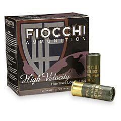 "Fiocchi Premium High Antimony Lead 12 Gauge 2.75"" 1-1/8 oz #9 Shot 25 Rounds"