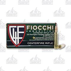 Fiocchi Shooting Dynamics 223 Remington 45 Grain 50 Rounds