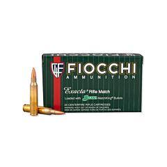 Fiocchi Exacta 223 Remington 69 Grain Sierra Matchking Hollow Point 20 Rounds