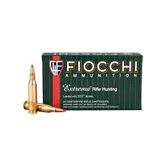 Fiocchi Exacta 243 Winchester 95 Grain Super Shock Tip Flat Base 20 Rounds