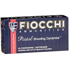 Fiocchi Shooting Dynamics 32 S&W Long 100 Grain Lead Wadcutter 50 Rounds