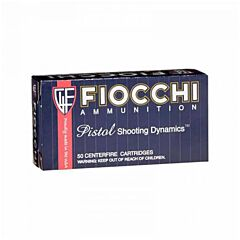 Fiocchi Shooting Dynamics 357 Sig 124 Grain Full Metal Jacket 50 Rounds
