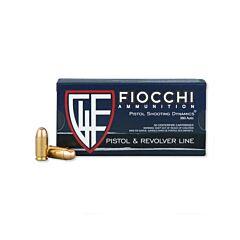 Fiocchi Shooting Dynamics 380 ACP 95 Grain FMJ 50 Rounds