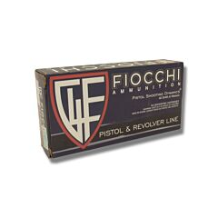 Fiocchi Shooting Dynamics 40 S&W 165 Grain Full Metal Jacket 50 Rounds
