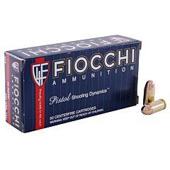 Fiocchi Shooting Dynamics 45 ACP 230 Grain Full Metal Jacket 50 Rounds