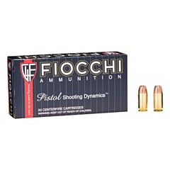 Fiocchi Shooting Dynamics 45 ACP 200 Grain Jacketed Hollow Point 50 Rounds