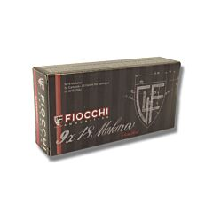 Fiocchi 9mm Makarov 95 Full Metal Jacket 50 Rounds