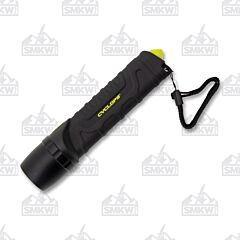 Cyclops 800 Lumen Flashlight Glass Breaker Black
