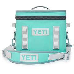 Yeti Hopper Flip 12 Soft Cooler Aquifer Blue